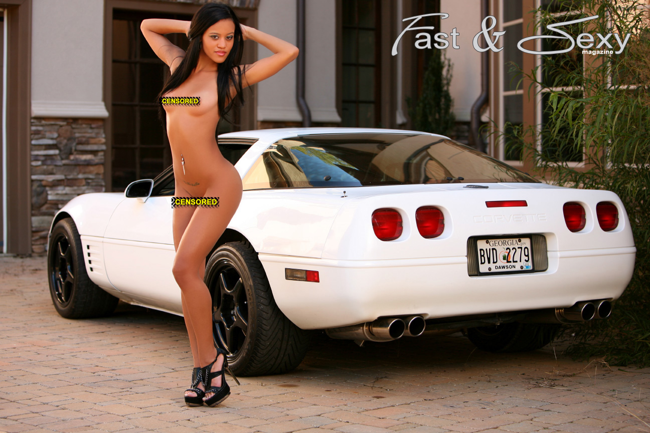 sexy nude babes and sexy fast cars