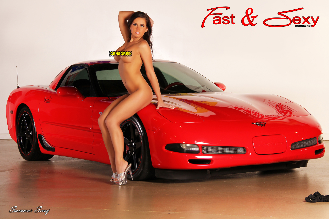 Naked girl in z06