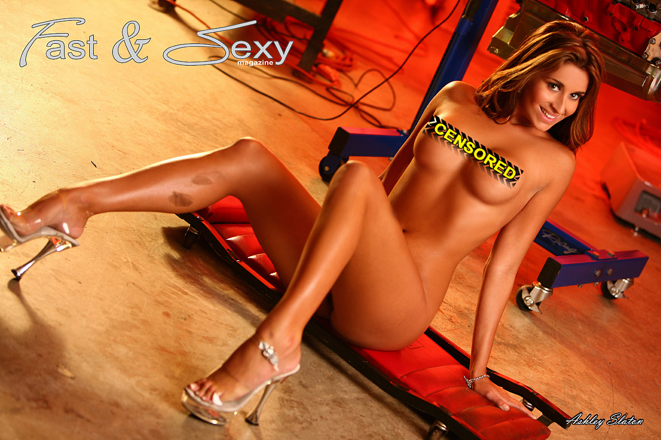 Smokin Hot Ashley Slaton Nude Shop Girl  Fast  Sexy-5147