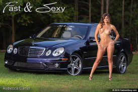 Capri Blue E63 Mercedes