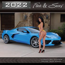 2022 Fast and Sexy Nude Calendar